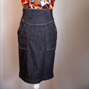 Citizens of Humanity high-waisted denim skirt